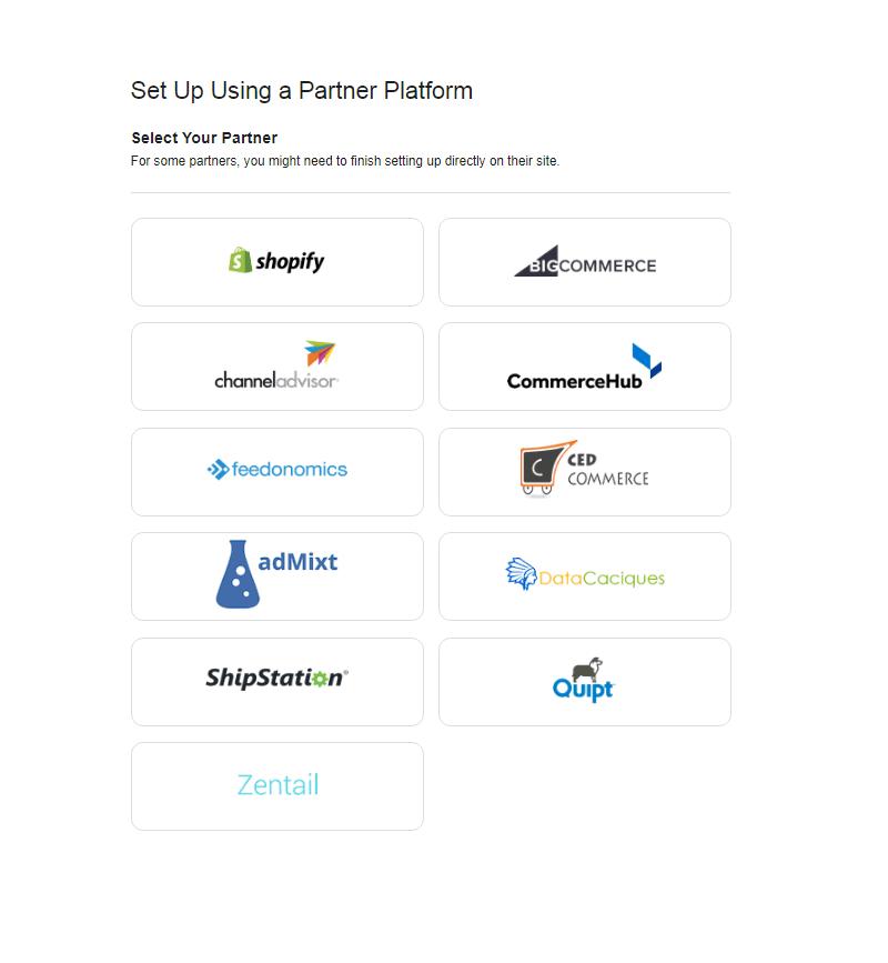 Выбор партнерских платформ