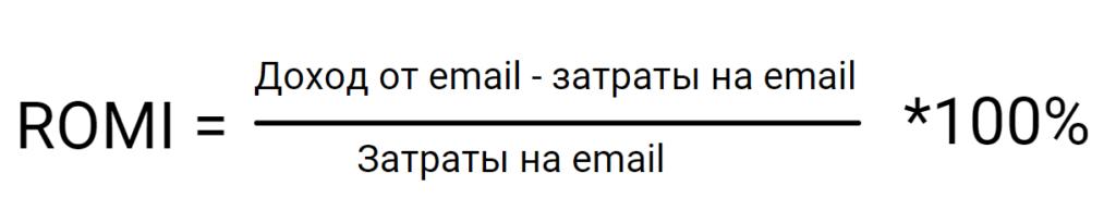 Формула ROMI